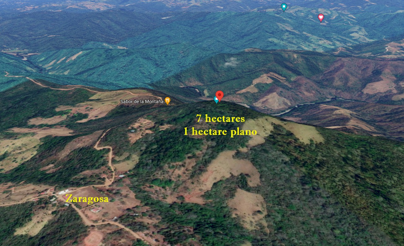 7 Hectares with View Zaragosa